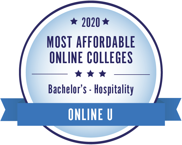 2020 Most Affordable ONline Colleges: Bachelor's - Hospitality. Online U.