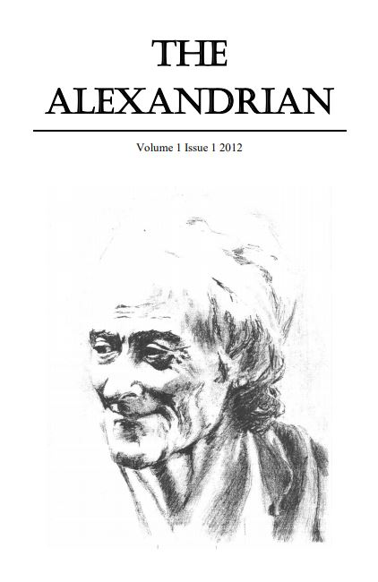 The Alexandrian Cover artSketch of elderly lady