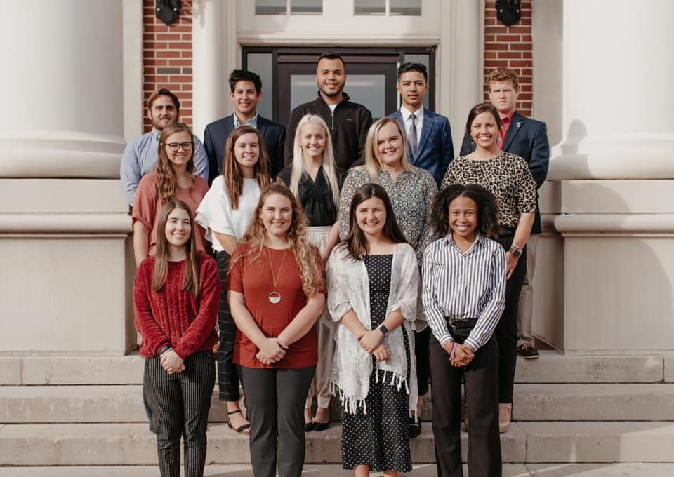 Group photo of the 2019-2020 Dean's Student Advisory Council