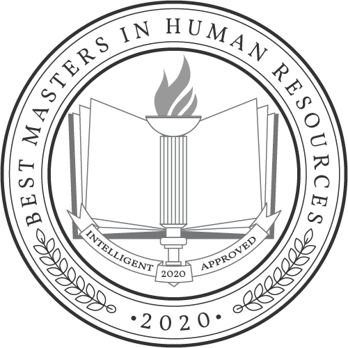2019 Best Masters in Human Resources seal from Intelligent.com