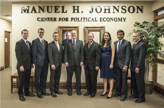 Group picture of the Johnson Center faculty