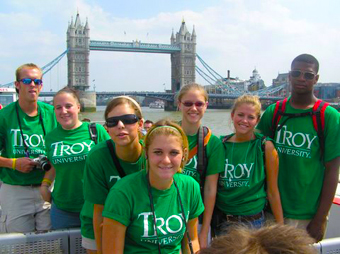 Troy in London