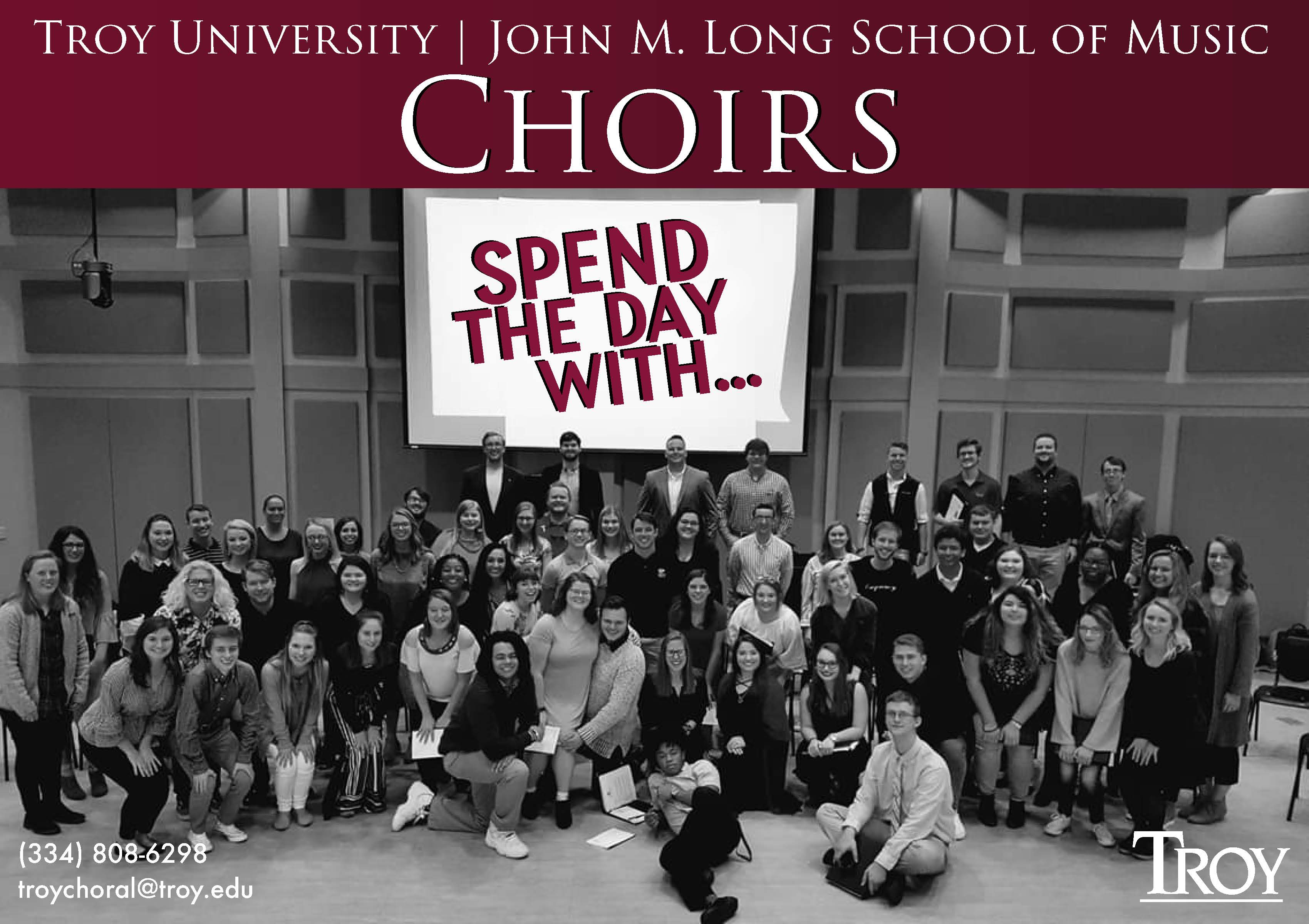 spend the day with troy choral