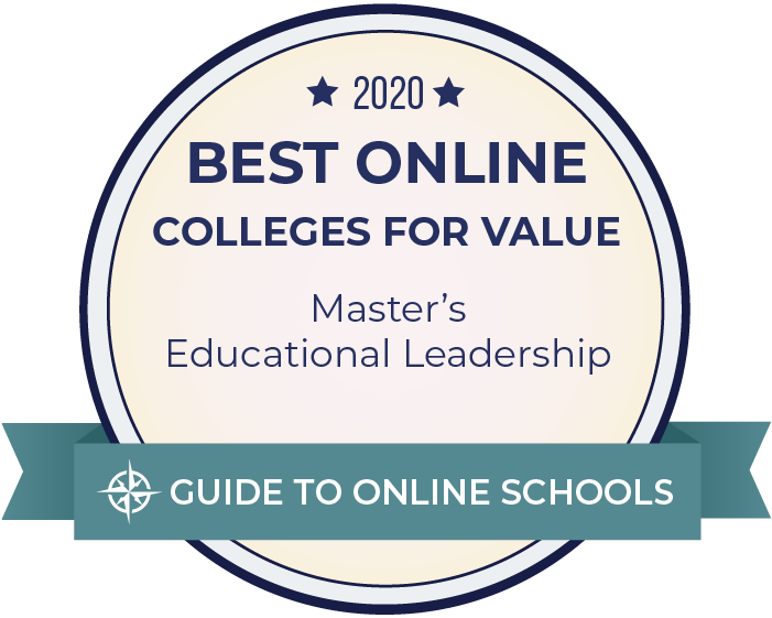 badge for best masters eductional leadership