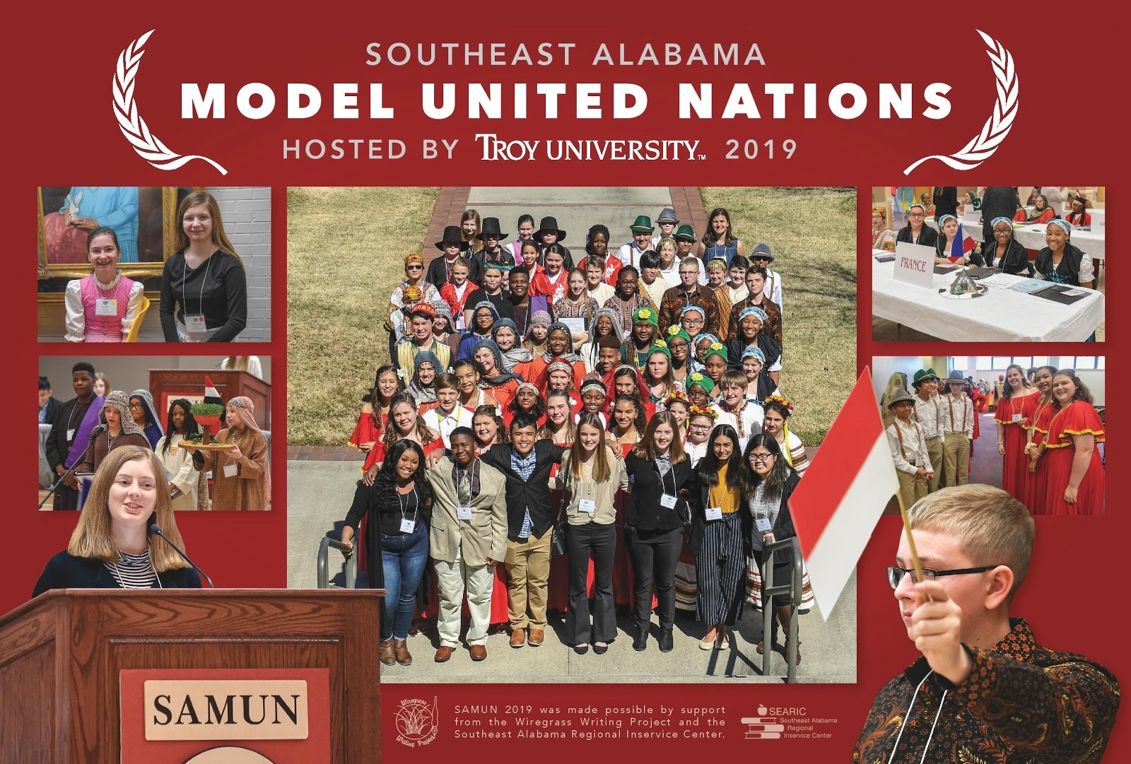 Model United Nations poster