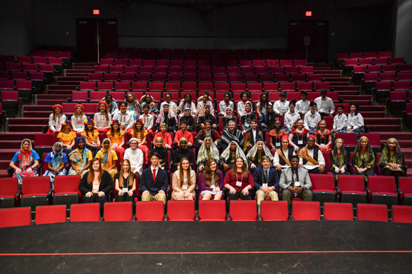 Southeast Alabama Model United Nations 2020 teams and officers