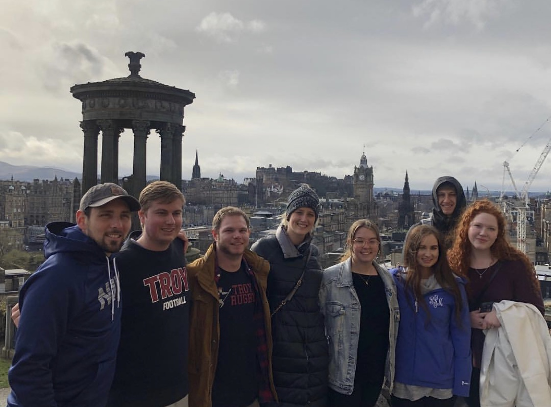 HSTM study abroad students in Ireland