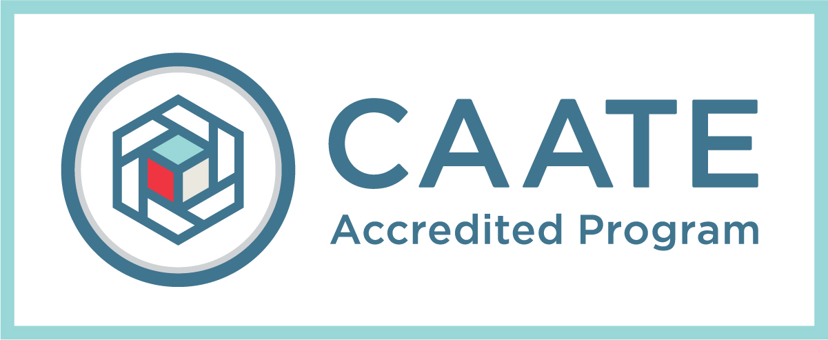 CAATE Accredited Program Badge