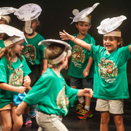 Summer Spotlight Creative Drama Camp participants perform