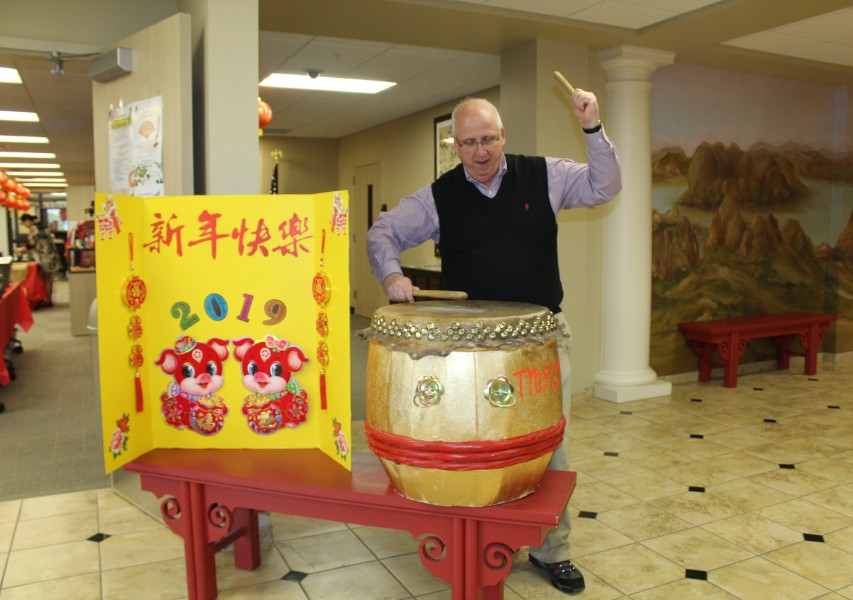 a faculty interested in chinese drum