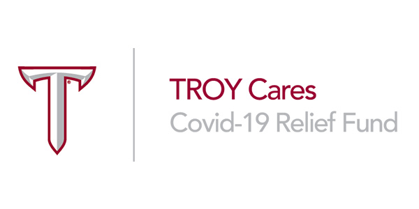 Troy cares banner