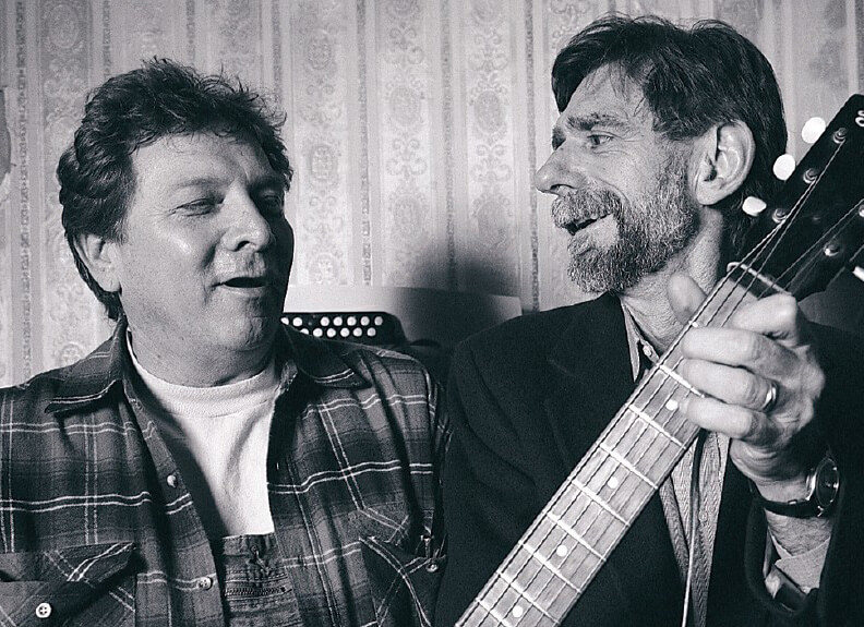Dann Penn and Spooner Oldham creating music