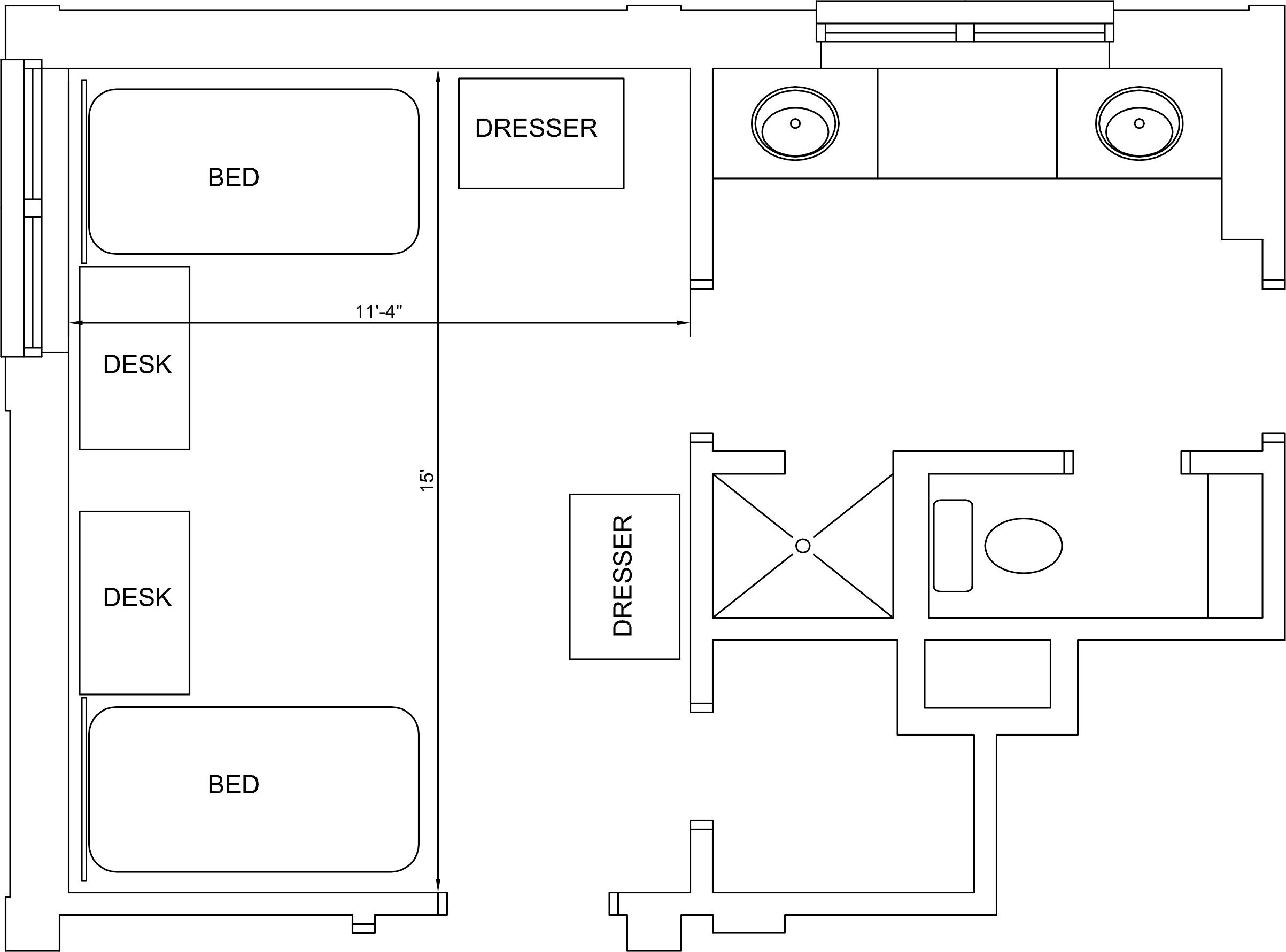 Clements Hall Floorplan