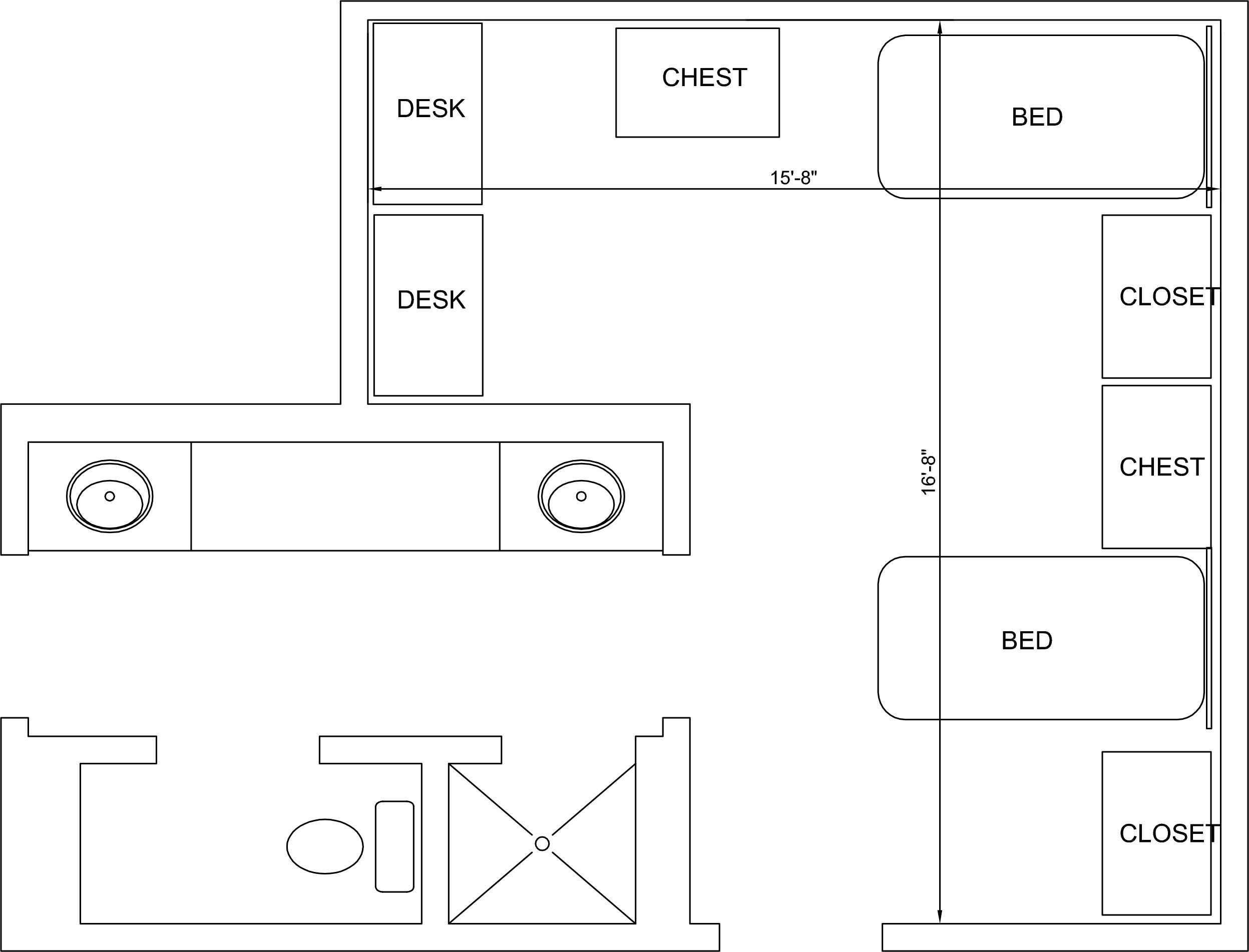 Cowart Hall Floorplan