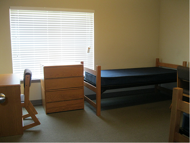 Newman Center bedroom