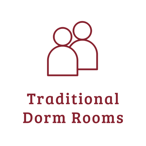 Traditional dorm room - from https://www.iconfinder.com/icons/3401862/essential_people_web_icon