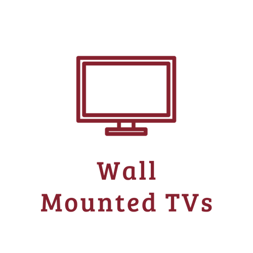 Wall mounted TVs - from https://www.iconfinder.com/icons/1518235/communication_television_icon