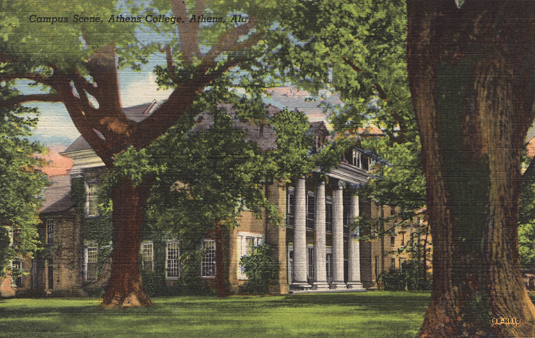 Postcards of North Alabama Buildings