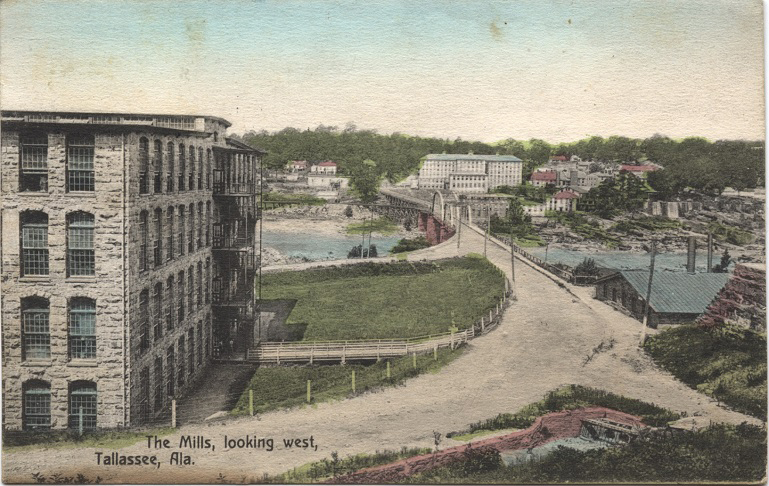 Postcards of Buildings in South Central AL