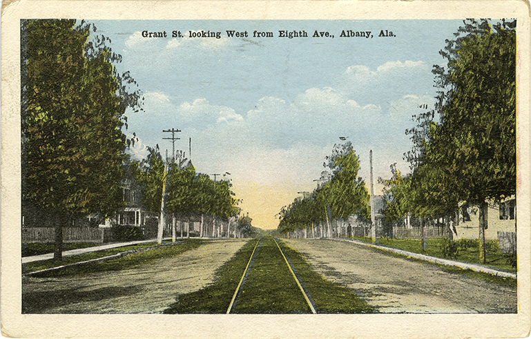 Postcards of Historic Streets in North AL