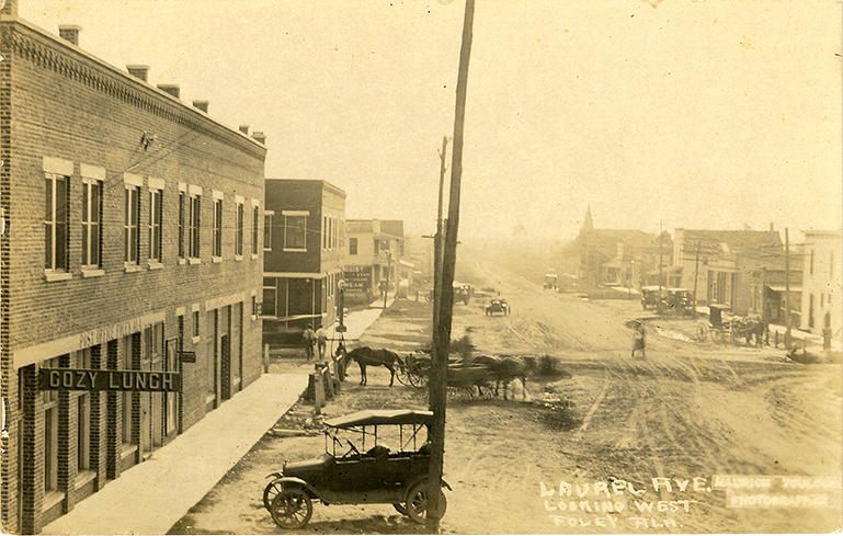 Postcards of Historic Streets in Southwest AL