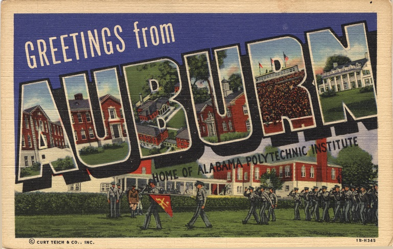 Postcards of Greetings, Museums & Monuments in AL