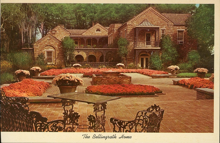 Postcards of Historic Homes and residences of AL