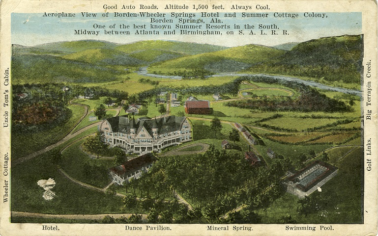 Postcards of Historic Lodgings of AL
