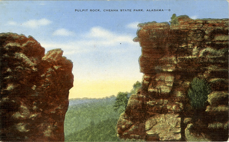 Postcards of Natural and Scenic Attractions of AL
