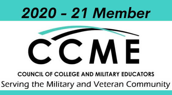 Council of College and Military Educators 2020-21 Member