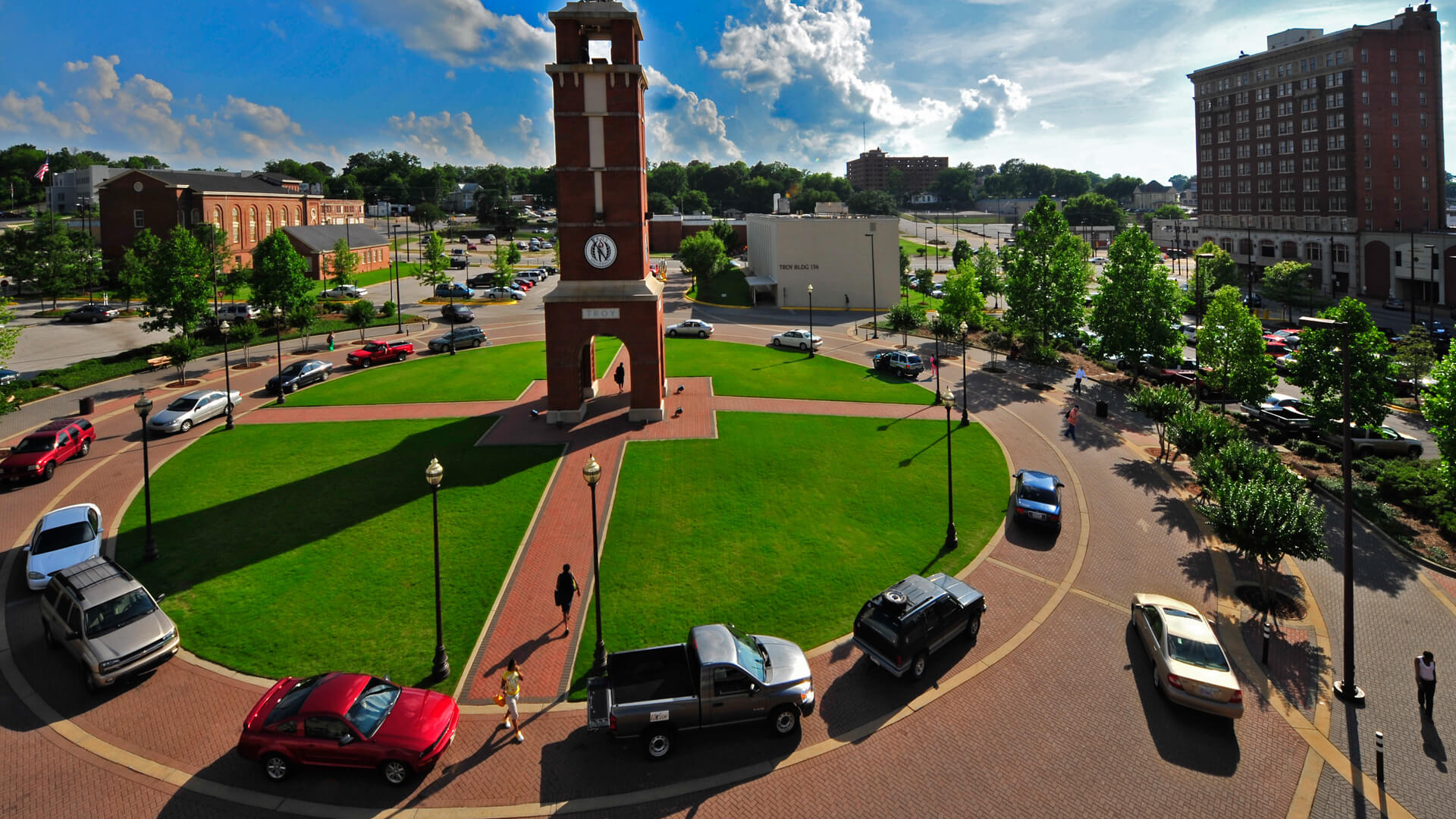 Montgomery Campus clock tower