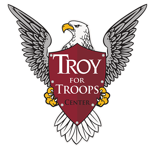 TROY for Troops Logo