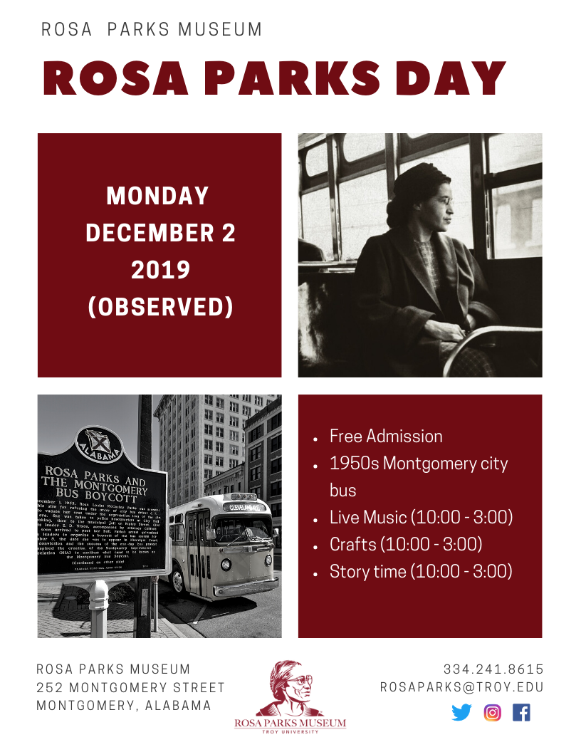rosa parks day 2019