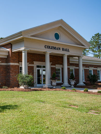 Coleman Center for Early Learning and Family Enrichment on the Troy University campus in Dothan, AL
