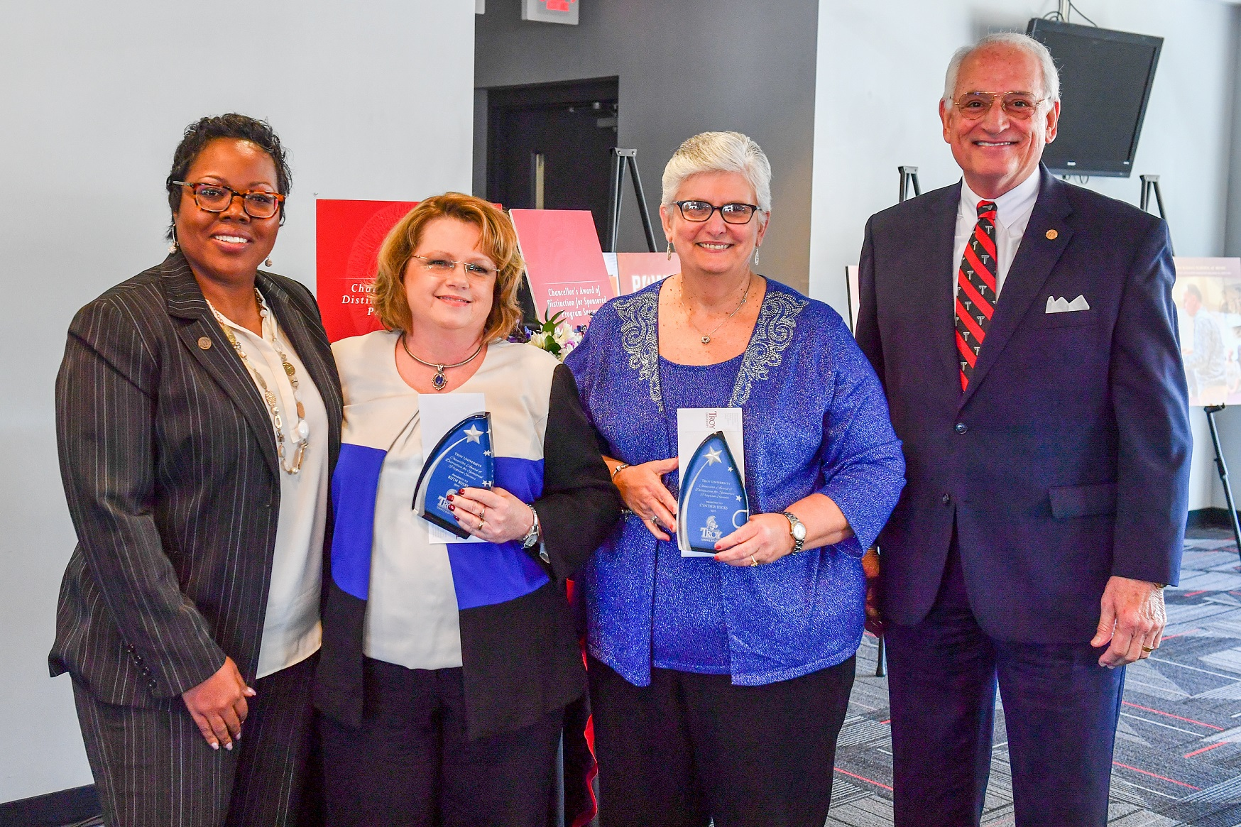 2019 Chancello's Award of Distinction Dr. Ruth Busby and Dr. Cynthia Hicks