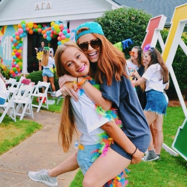 Alpha Gamma Delta sisters at Troy University