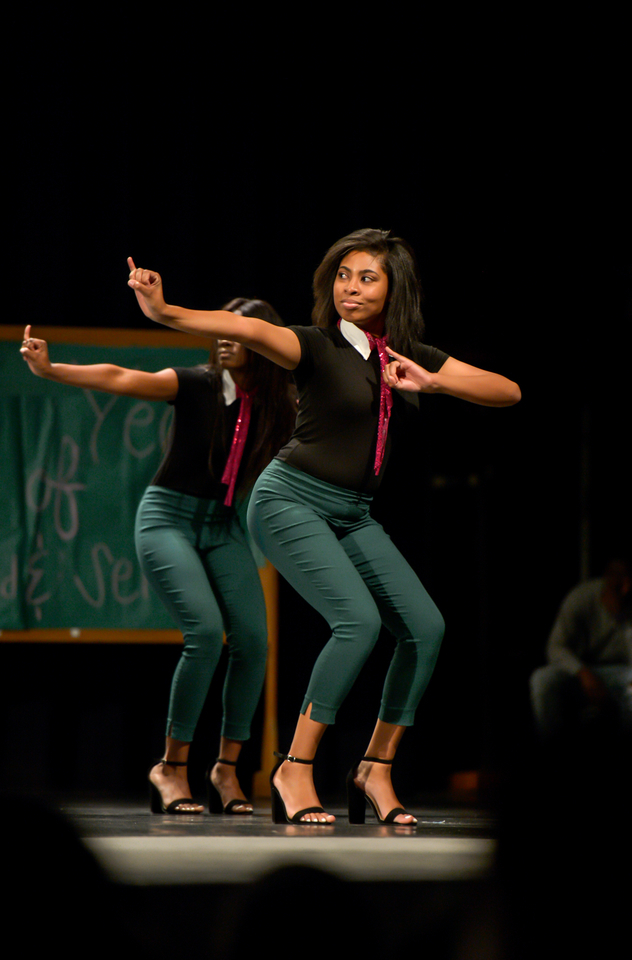 Alpha Kappa Alpha NPHC step show at Troy University