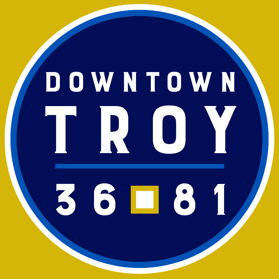 Downtown Troy Alabama Logo - 36square81