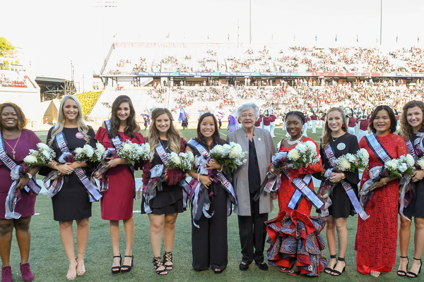 2018 Homecoming Court at Troy University