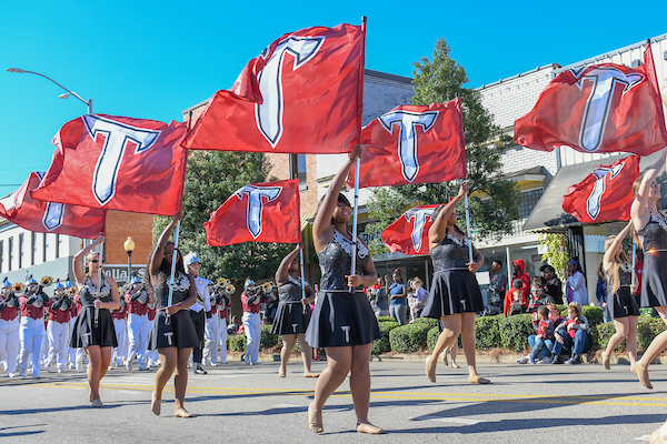 Troy University Homecoming Parade