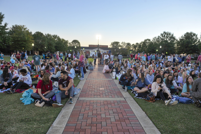 Concert on the Quad at Troy University during Homecoming Week