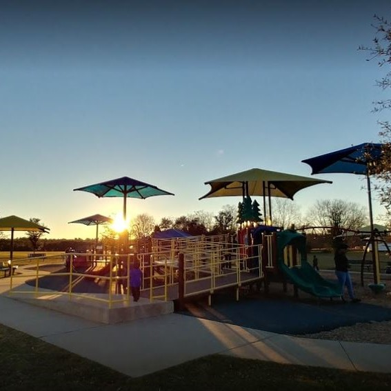 Troy Rec Center Playground - from Google Images