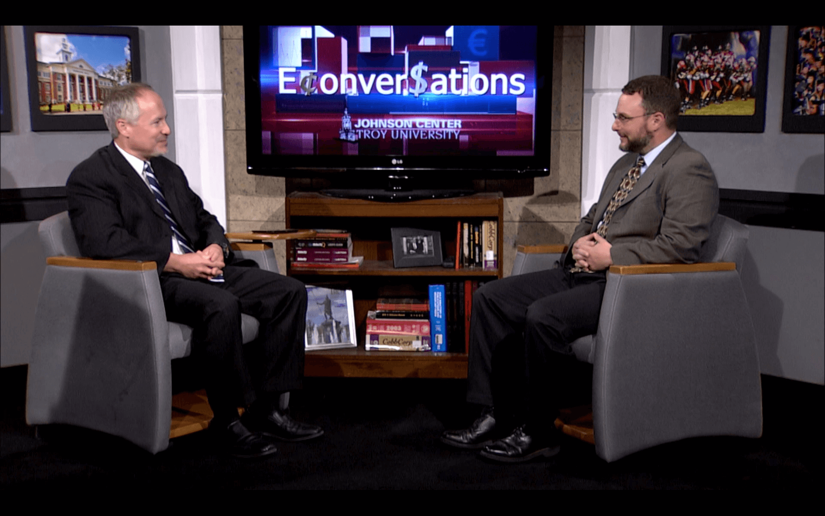 Dr. Dan Sutter, host of the show E-conversations with one of his guests