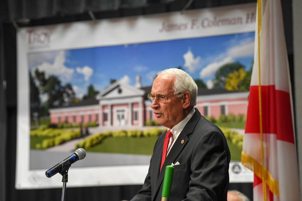 Troy University groundbreaking ceremony in Dothan, Alabama