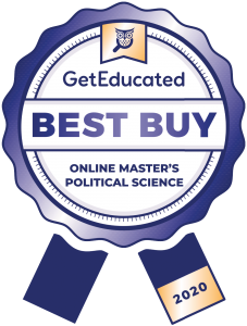 GetEducated Most Affordable Online Master's Political Science Programs
