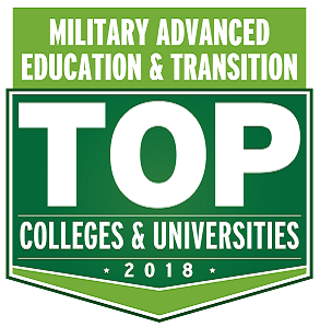 Military Advanced Education & Transition, Top Colleges and Universities 2018 Badge