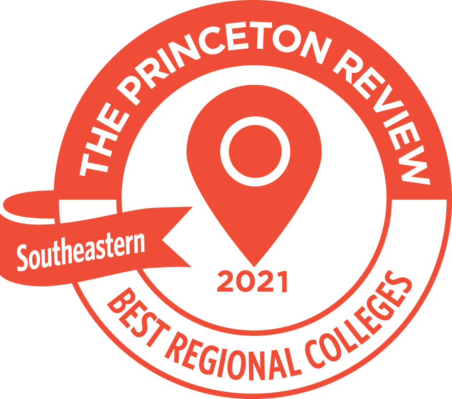 The Princeton Review, Best regional colleges, southeastern, 2019